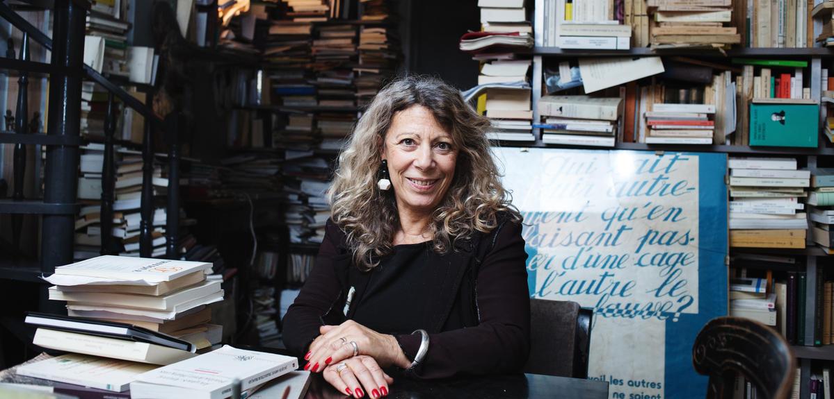 Barbara Cassin, médaille d'or 2018 du CNRS