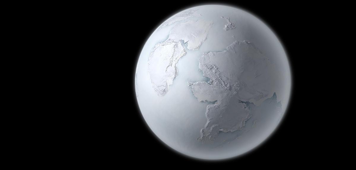 Quand la terre tait une boule de neige cnrs le journal - Fabriquer une boule a neige avec photo ...