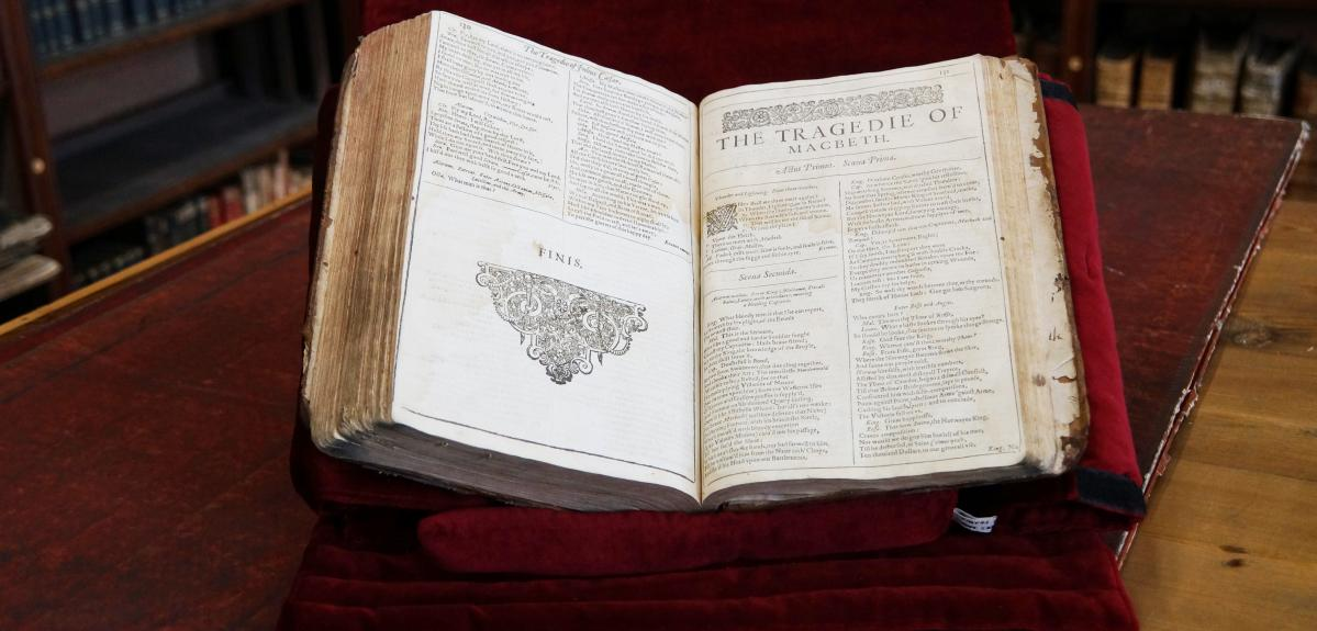 First Folio de Shakespeare
