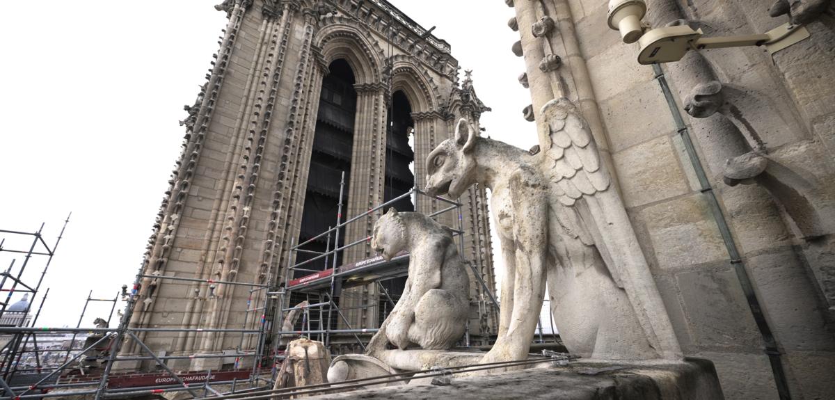 À Notre-Dame, les matériaux livrent leurs secrets