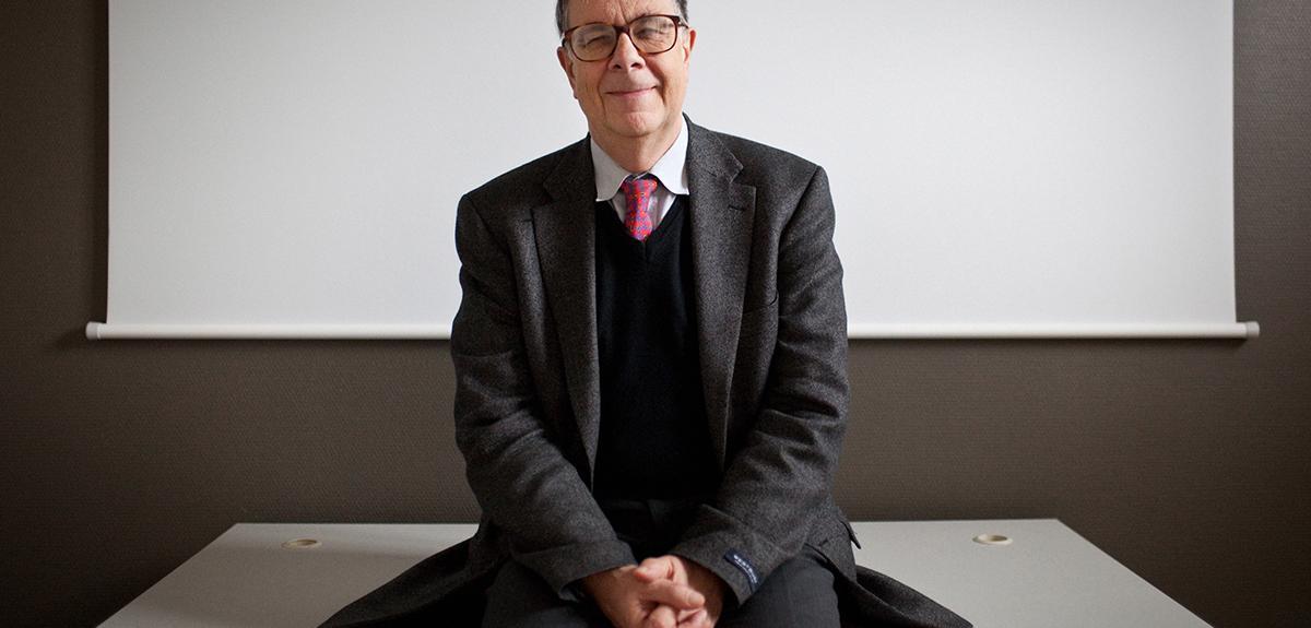 Portrait du neurobiologiste et philosophe Georges Chapouthier