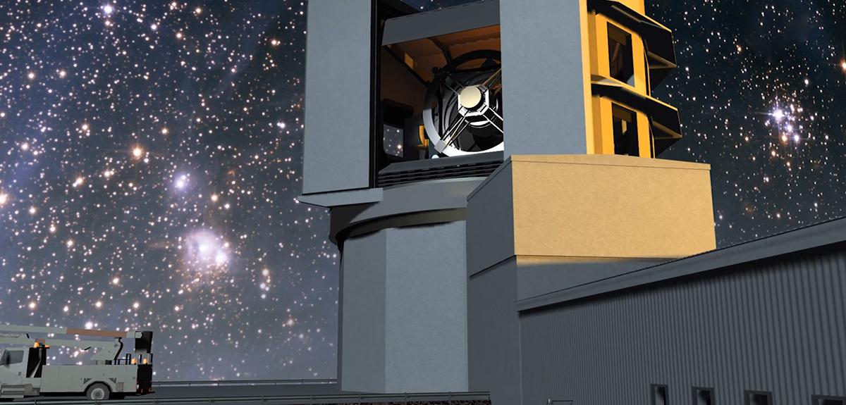 Une caméra d'exception pour filmer l'Univers