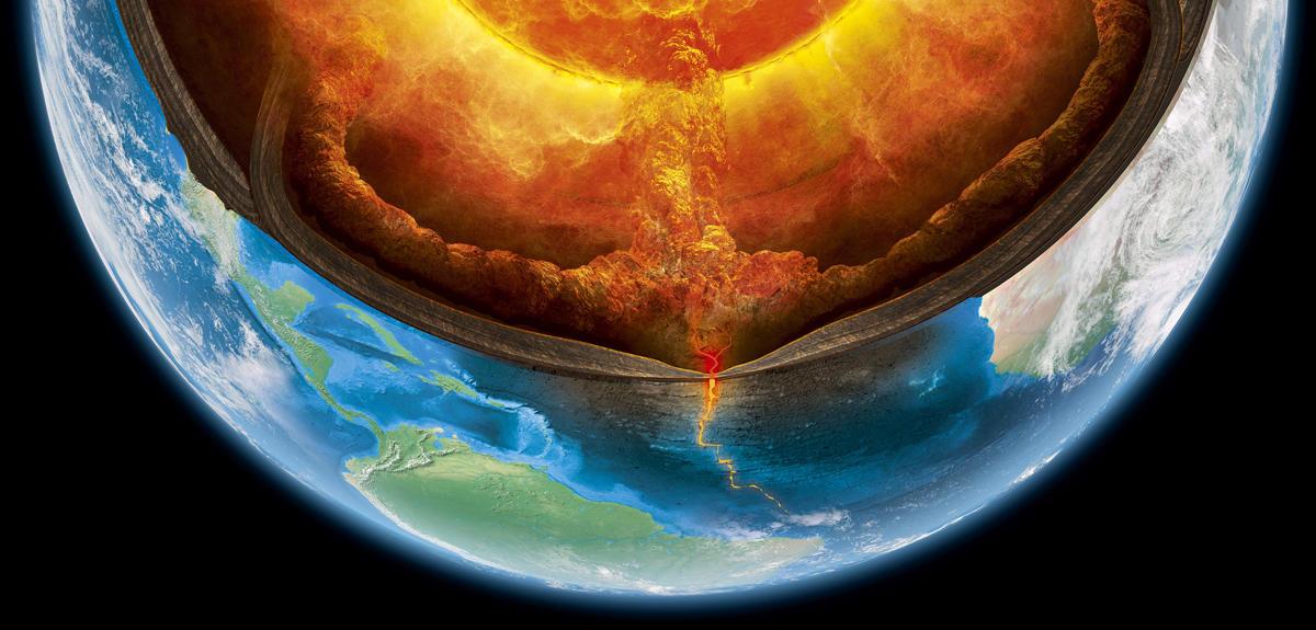 Qu est ce qui fait bouger le manteau terrestre cnrs le for Interieur de la terre