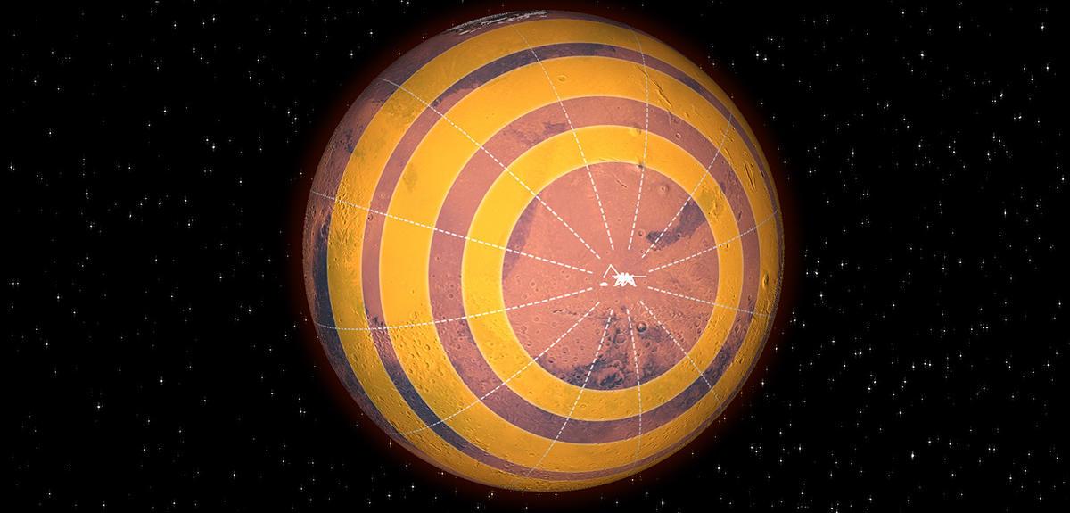 InSight dévoile le sous-sol martien