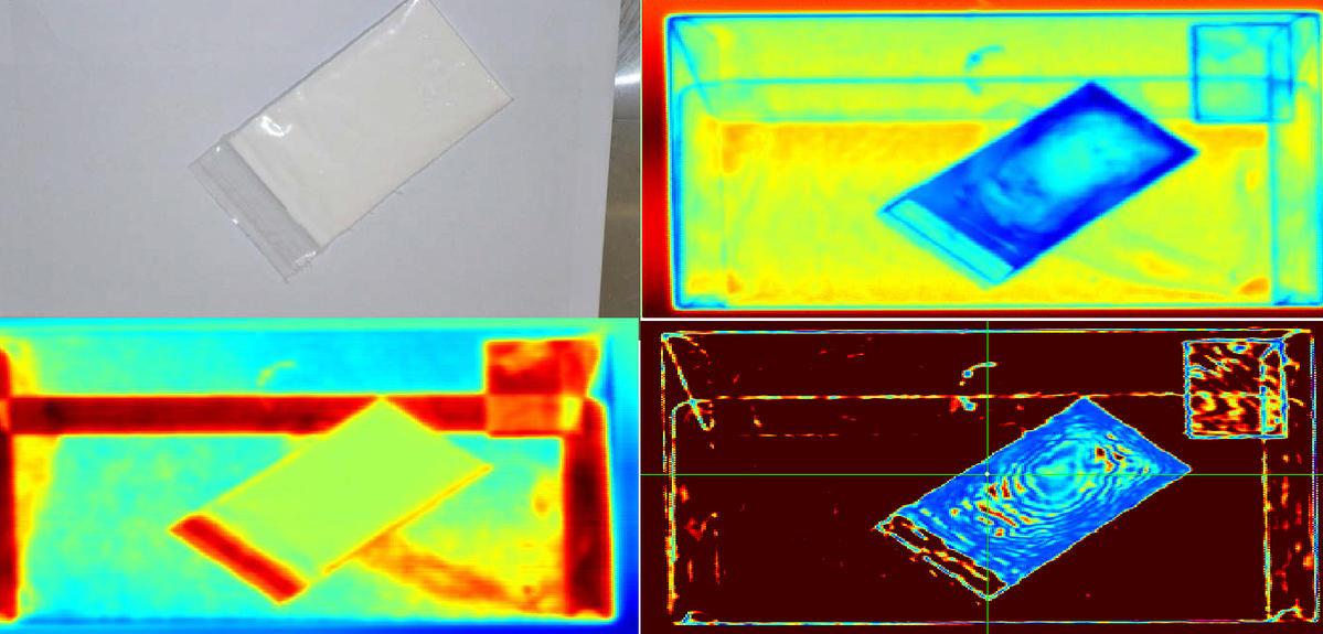 Spectro imagerie térahertz