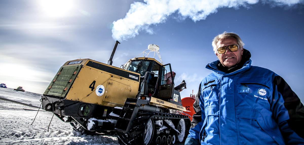 """Patrice Godon, le """"MacGyver"""" de l'Antarctique"""
