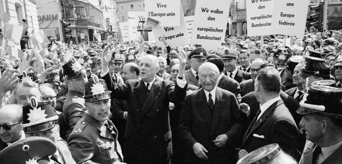 Quand la France et l'Allemagne se sont réconciliées