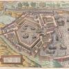 Carte du Port antique de Rome tiré du Civitates Orbis Terrarum