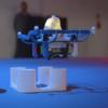Petit drone qui vient de décoller