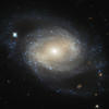 Une photo de galaxie