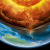 Vue d'artiste de l'intérieur de la Terre