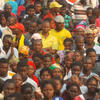Meeting de la Renamo (opposition), Mozambique, octobre 2014